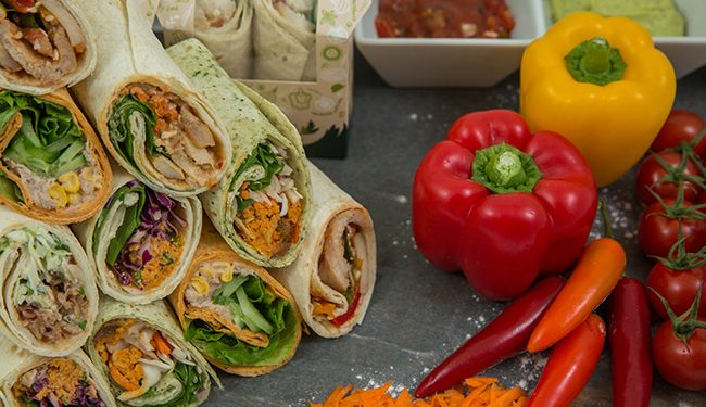 Filled Wraps and Rolls by Raynor Foods