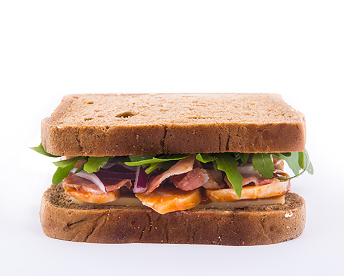 Catering sandwiches for airlines and rail companies