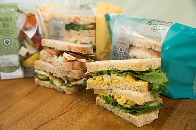 Gourmet Sandwiches Cafe Range from Raynor Foods