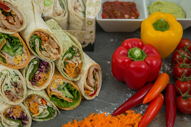Tortilla Sandwich Wraps Suppliers