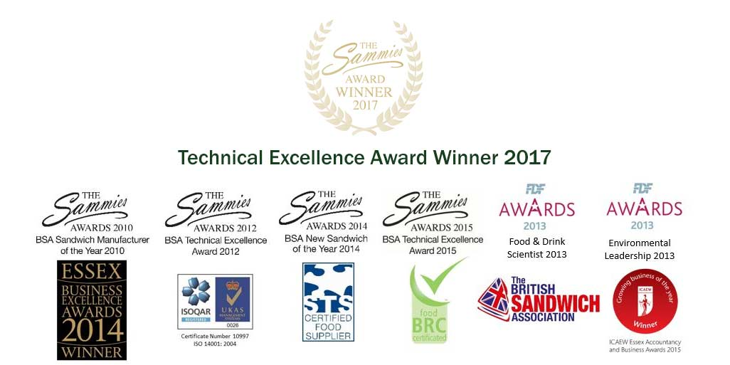 Sandwich Manufacturers Awards