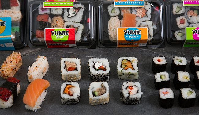 Sushi boxes delivered to your door