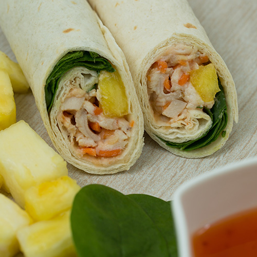 Sweet & Sour Chicken Wrap