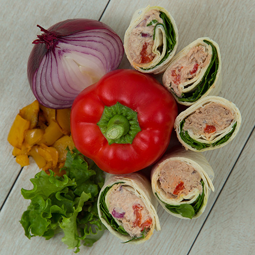 Tuna & Red Onion Wrap