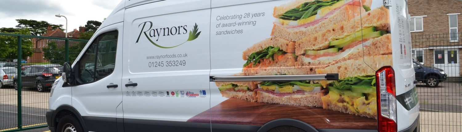 Raynors Sandwich Delivery Van