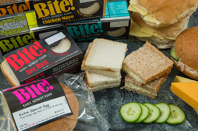 Bite Sandwich range from Raynors