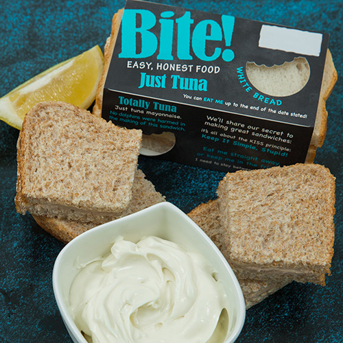 Totally Tuna! Bite Sandwiches from Raynor Foods