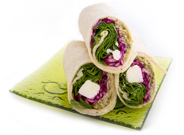 Falafel & Feta Tortilla Wrap from Raynor Foods