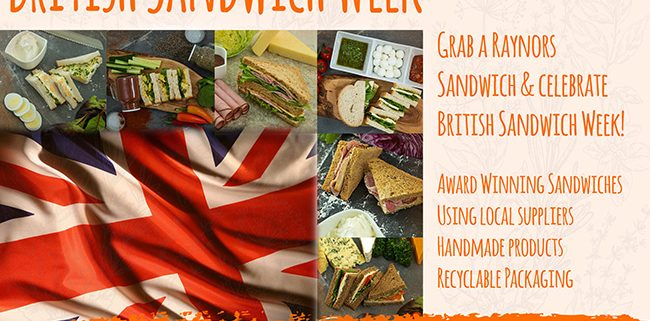 British Sandwich Week Poster
