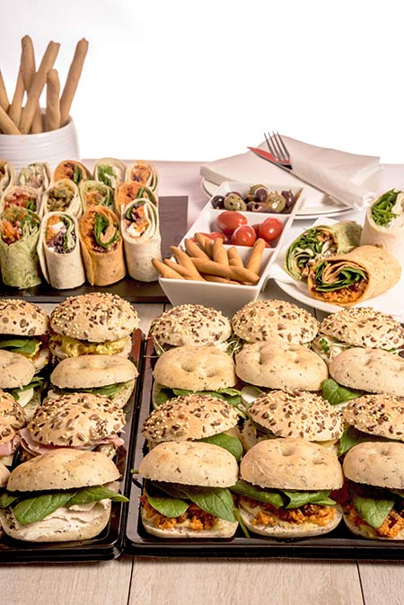 Event Catering Suppliers - Mini Roll Platters