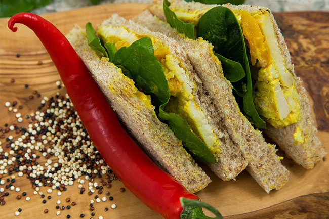 Halal Sandwich Suppliers - Curried Chicken Halal Sandwiches