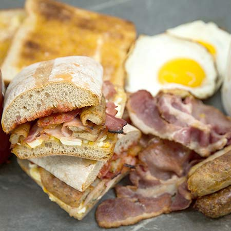 Wholesale panini suppliers - All day breakfast