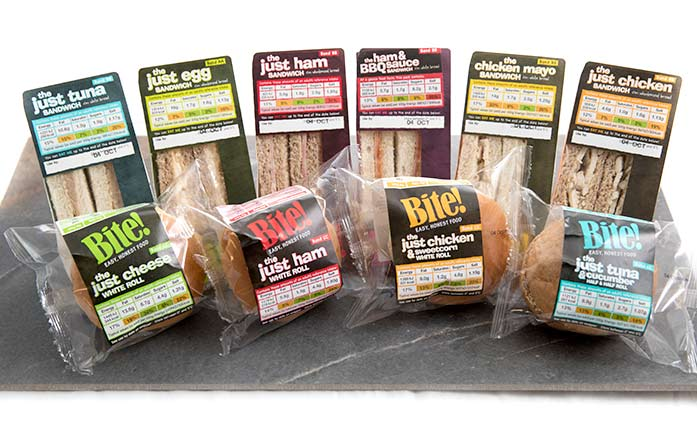 Bite! value sandwich range from Raynor Foods