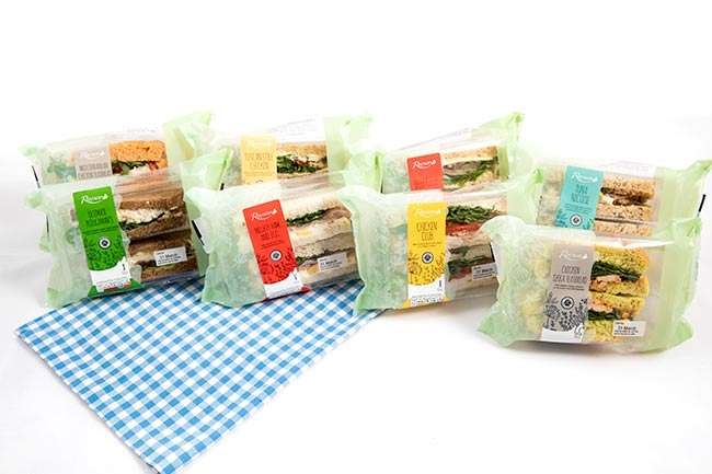 Gourmet Sandwiches - Cafe Range from Raynor Foods