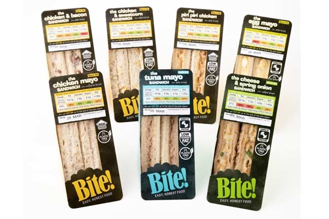 Bite Sandwich Range from Raynor Foods